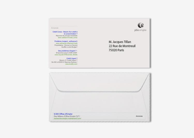 2 enveloppes